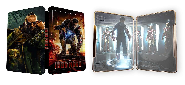 iron man 3 blu ray steelbookIron Man 3 Blu Ray Steelbook