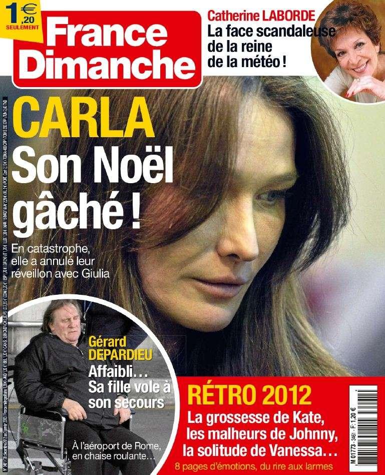 France Dimanche N°3461 du 28 Décembre 2012 au 3 Janvier 2013