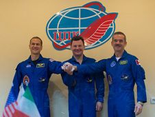 Expedition 34/35 Flight Engineer Tom Marshburn<br />