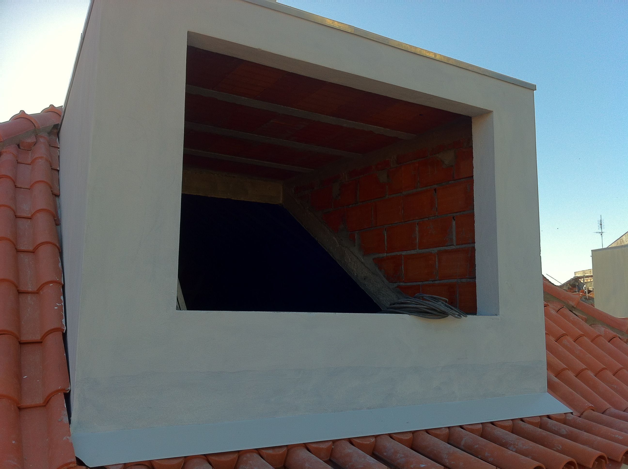 Mansarda antes janela