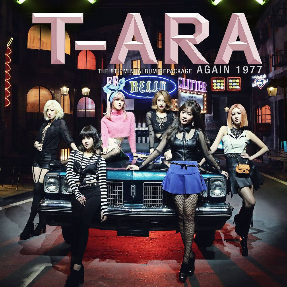 (Mini Album) T-ARA - Again 1977 (The 8th Mini Album Repackage)