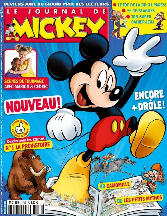 Le Journal de Mickey N°3172 du 3 au 9 Avril 2013