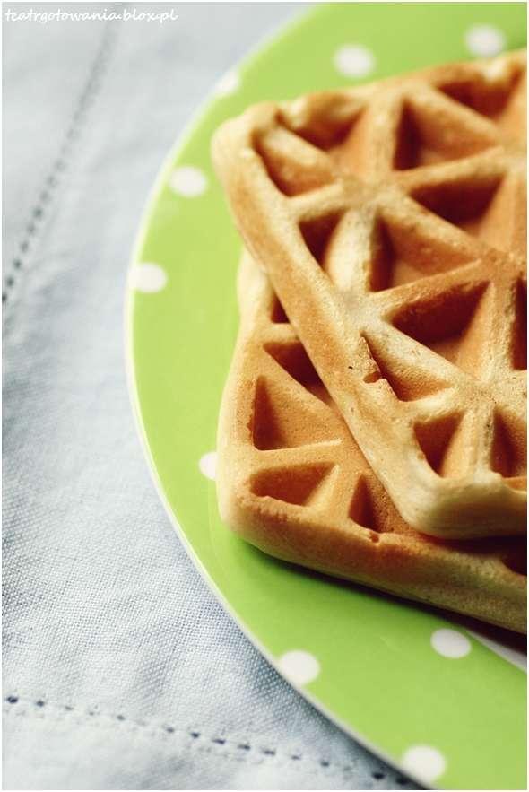 gofry śniadanie