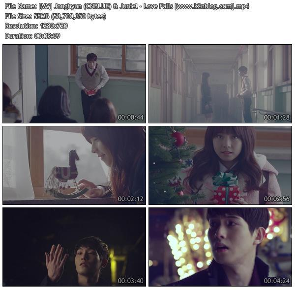 (MV) Jonghyun (CNBLUE) & Juniel - Love Falls (HD 720p Youtube)