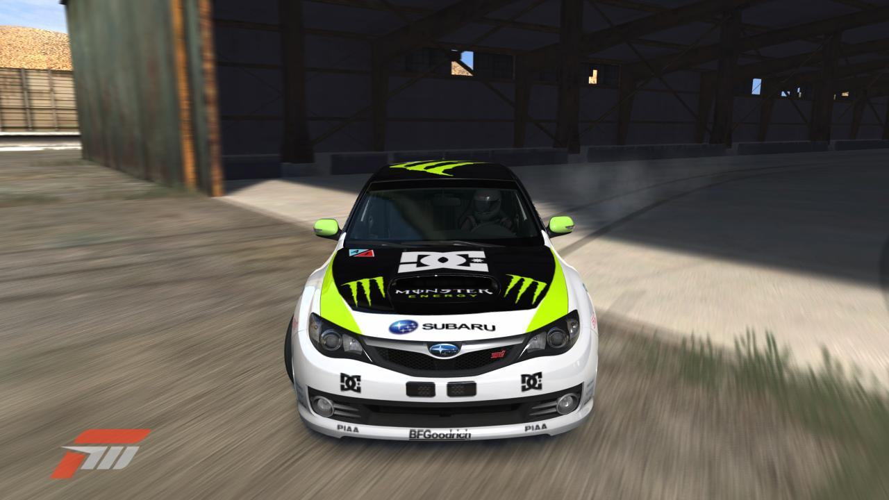 Monster Energy Drink Car.