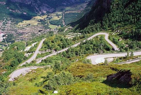 Estrada de Lysebotn
