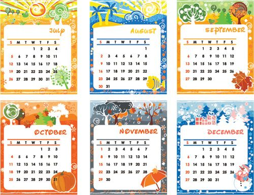 Calendario Para Ninos De Kinder.Calendarios Para Ninos De Preescolar Imagui