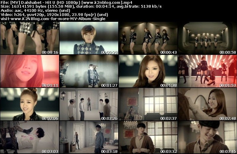 Download [MV] Dal☆Shabet – Hit U (HD 1080p Youtube)